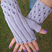 Fingerless Mitts with Beaded Cuff pattern
