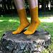 Wood Sprite Socks pattern