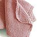 Diagonal Comfort Blanket pattern