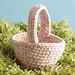 Easter Basket #L0136AD pattern