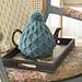 Cushy Smocked Throw and Tea Cozy (Tea Cozy) pattern