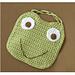 Frog Bib pattern