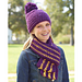 School Colors Hat and Scarf Set (Hat) pattern