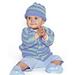 Seven Seas / Bubblegum Baby Set pattern