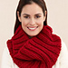 Ribbed Cowl #L20135 pattern