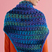 Easy Lace Triangle Shawl pattern