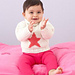 Star Baby Sweater pattern