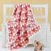 Entrelac Baby Blanket #L20019 pattern