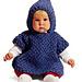 Baby Poncho (crochet) #779 pattern