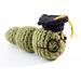 Amigurumi Graduation Bookworm pattern