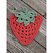 Granny Stawberry Dishcloth pattern