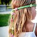 Summer Girl - knitted headband pattern