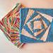 Vortex (Six) Dishcloth pattern