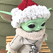 Baby Yoda Santa Hat pattern