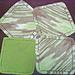 Diagonal Dishcloth pattern