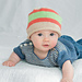 Two Striped Beanies pattern