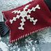 Snowflake Ice Scraper Mitt pattern