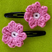 Spring Blossoms Hair Clips pattern
