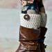 Ava Boot Cuffs pattern