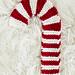 Candy Cane Hot Pad ~ Knit Version pattern