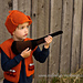 Hunting Vest and Rifle Set ~ Knit Version pattern