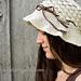 Pebble Beach Hat ~ Crochet Version pattern
