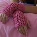 Openwork Fingerless Gloves pattern