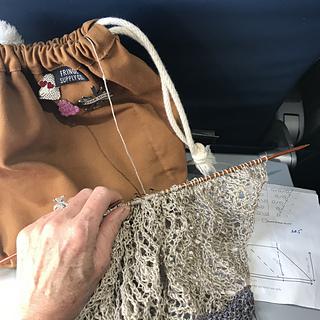 in-flight entertainment on my flight home