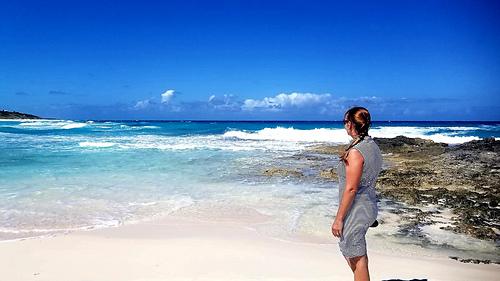 Sand Dollar Beach, Great Exuma Island, Bahamas