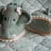 Baby Elephant Bootee Slipper Pets pattern