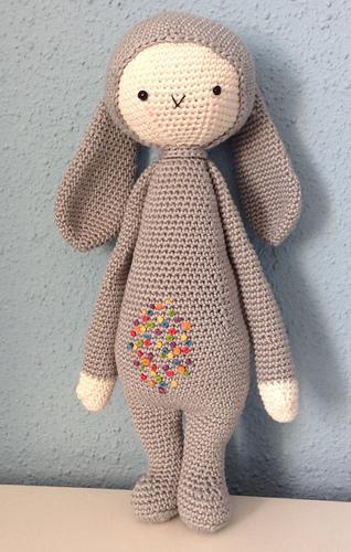 BINA the bear • lalylala crochet pattern / amigurumi   Amigurumi ...   500x318