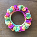 Scrap Sock Yarn Hair Scrunchie pattern