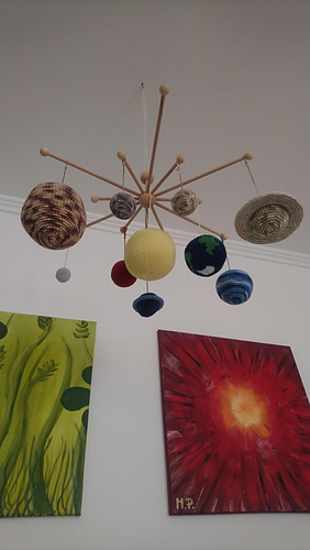 Ravelry: Realistic Solar System Mobile pattern by Melanie