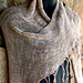 Easy Beaded Fringe Shawl pattern