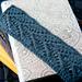 Demi Chevron Bookmark pattern
