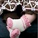 Picot & Windmill Infant Socks pattern