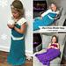 Elsa & Anna Inspired Blanket Dress pattern