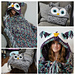 Bulky & Quick Hooded Owl Blanket pattern