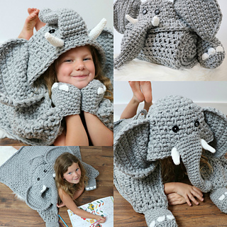 Elephants on Parade: 10 Free Crochet Elephant Patterns! - moogly | 320x320