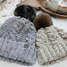 Rustic Cabled Toque pattern