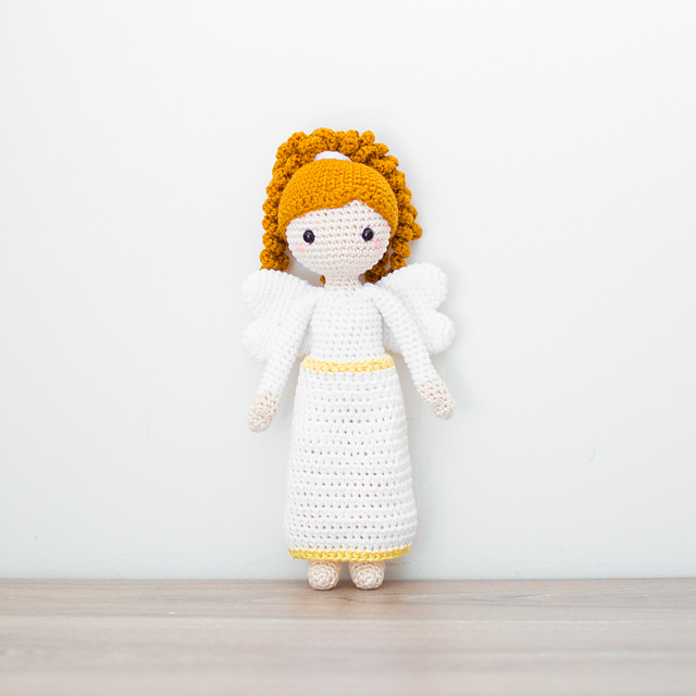 School Kids Emma /& Jack Dolls Amigurumi Crochet Pattern