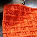 Square Lattice Dishcloth pattern