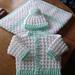 Peyton Baby Cardigan & Hat pattern