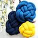 Knit Knot Pillows pattern