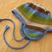 Striped Hat & Scarf Set pattern