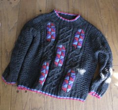 Durrow sweater makeover
