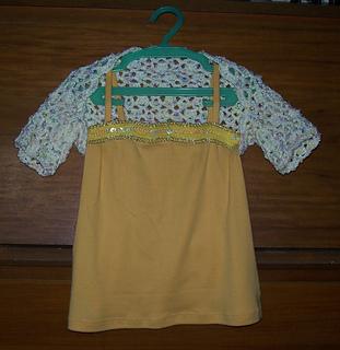crochet kidshrug