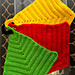 Crocheted Hot Pad Set pattern