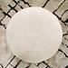 Round Minimalist Floor Cushion (GOISAN) pattern