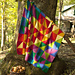 #08 Knitted Triangle Sampler Afghan pattern